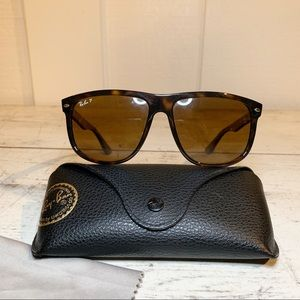 Ray-Ban RB4147 Tortoise Frames Brown Polarized
